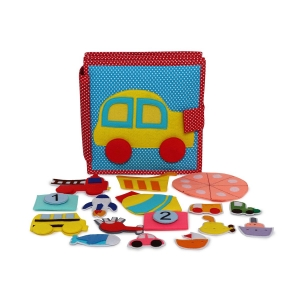 Fast Car - Vehicle Themed Quiet Book