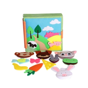 Heads and Tails - Mix & Match Animal Themed Quiet Book