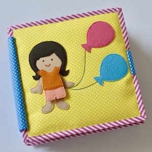 Balloon Girl - Mixed Theme Quiet Book